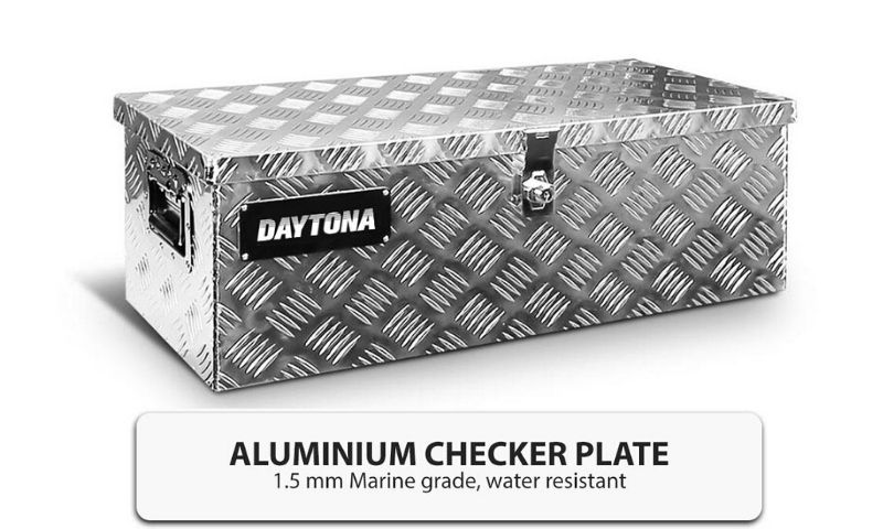 Details about Boxo Aluminium Tool Box Storage Heavy Duty Lock Toolbox Tool  Organiser Truck NEW
