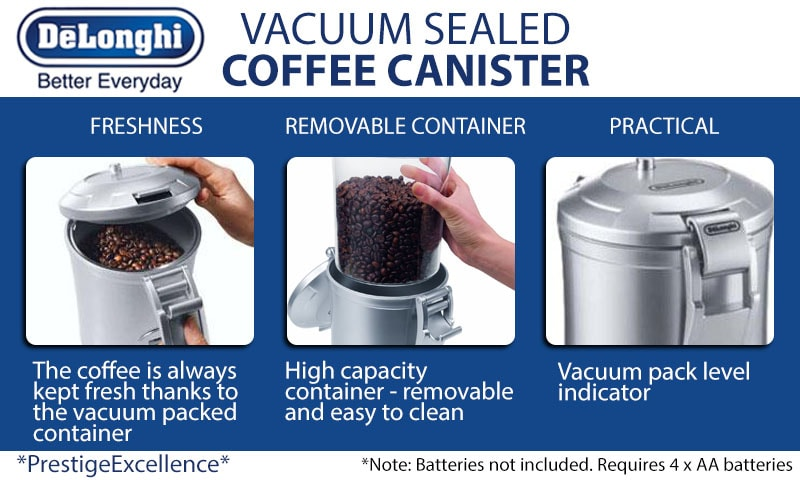 Delonghi Coffee Storage Canister
