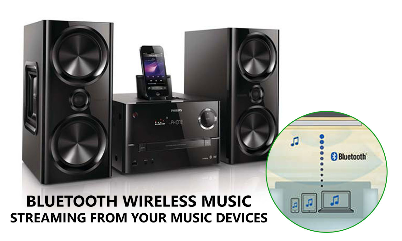 Details about Philips DTD3190 iPhone iPod Dock HDMI Micro HiFi Music System  FM Radio USB DVD