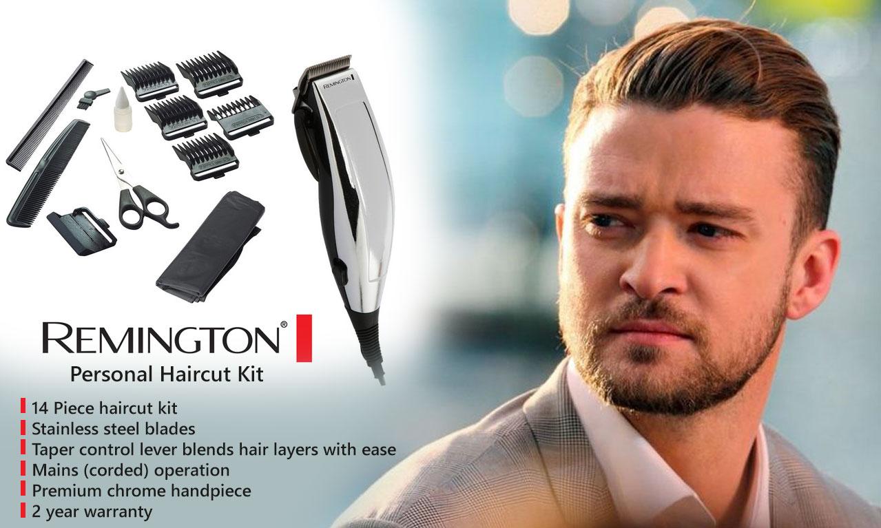 remington precision haircut clipper 14 pieces haircuts models ideas. Black Bedroom Furniture Sets. Home Design Ideas